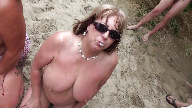 家伙喜欢他妈的陌生人 裸体的业余成熟